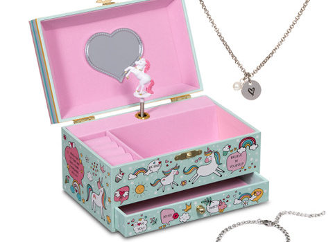 Musical Unicorn Jewelry Box