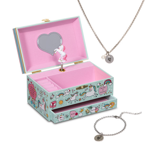 Musical Unicorn Jewelry Box for Girls